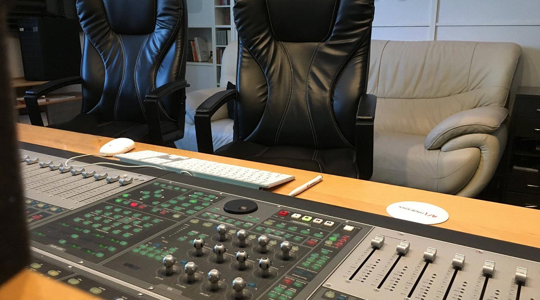 Mainmix Studio - Regie 1